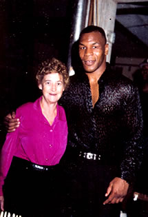 Barbara and Mike Tyson